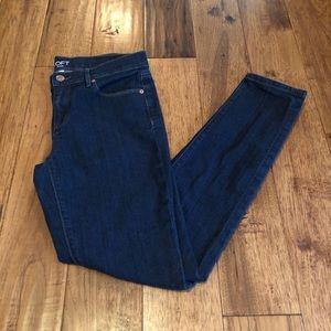 Loft Modern Skinny Jeans in Dark Rinse EUC
